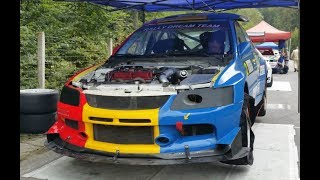 Maximum Attack and Crash Hillclimb Campulung 2016 - Mitsubishi Bmw Subaru Honda Ferrari Part.11
