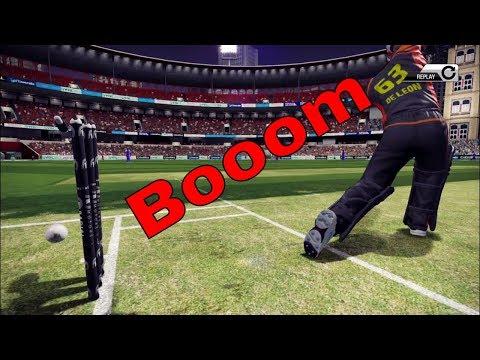 don bradman cricket 17 Bangalore vs Hyderabad Gameplay