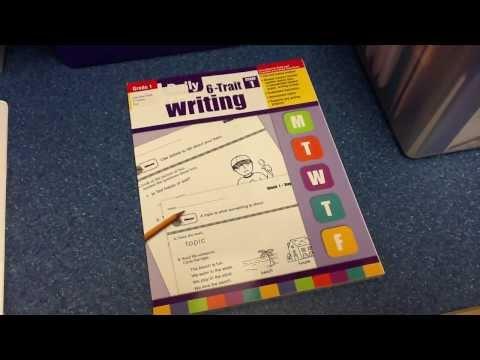 First Grade 6 Traits VOICES Binder