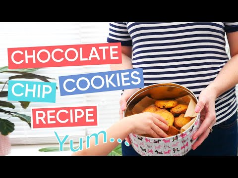 How To Make Easter-Themed Chocolate Chip Cookies | Channel Mum
