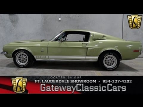 1968 Ford Mustang GT350H - Gateway Classic Cars of Fort Lauderdale
