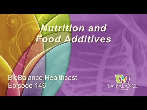 Nutrition and Food Additives