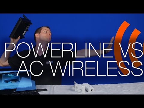 Wireless 802.11 AC vs Powerline Real World Test