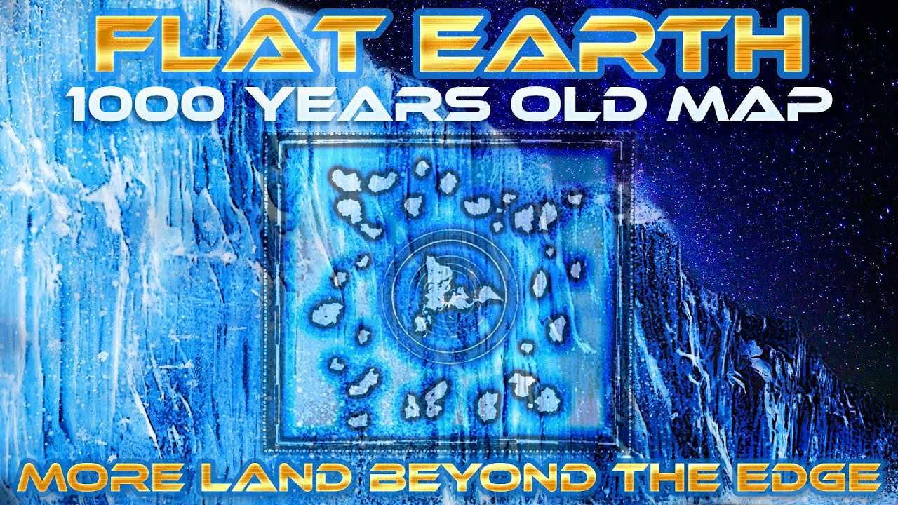Flat earth 1000 years old map shows more land beyond antartica flat earth 1000 years old map shows more land beyond antartica edgeice wall honolulu map youtube gumiabroncs Choice Image