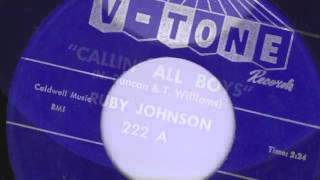 CALLING ALL BOYS - RUBY JOHNSON