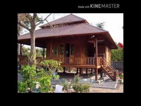 koleksi rumah kampung kayu terbaik malaysia - youtube