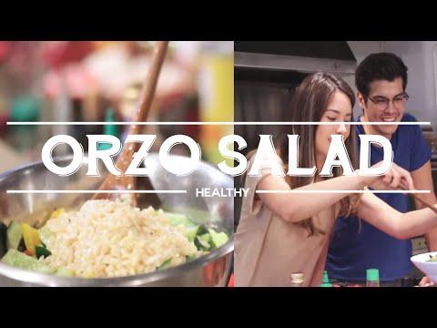 Summer Orzo Salad by Erwan Heussaff and Mari Jasmine