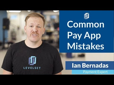 5 Common Pay App Mistakes [And How to Avoid Them]