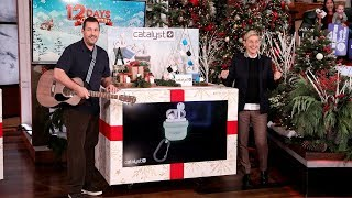 Adam Sandler Sings About Sensational Music Gifts for Day 11 of 12 Days!