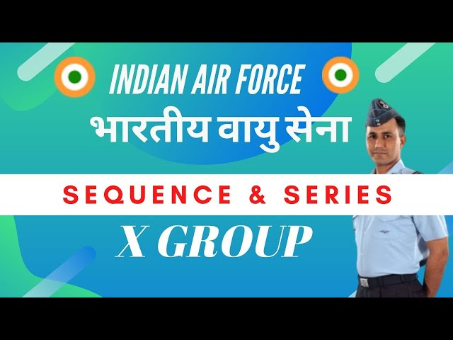 Series and Sequence- Airthmatic Progression Part 1 X Group Airforce
