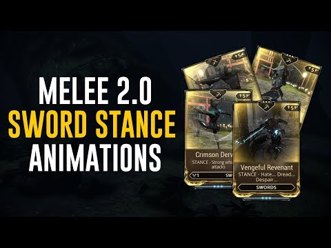 Sword Stances & Animations - Melee 2.0 (Warframe)