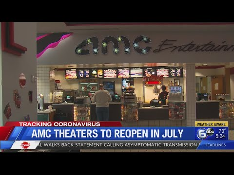 Movie Theaters, Shuttered For Months, Plan July Reopening
