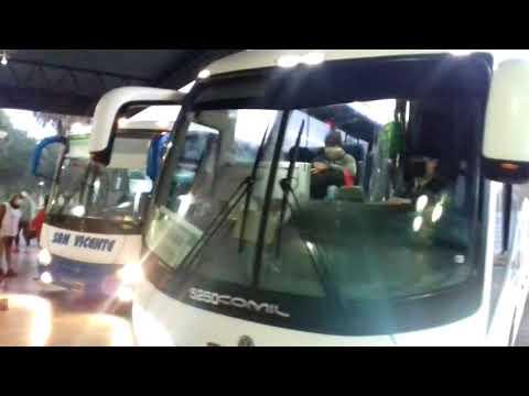 LLega de los primeros transporte interurbano a la terminal de Paraná
