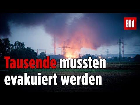 Ingolstadt: Katastrophen-Alarm nach Raffinerie-Explosion