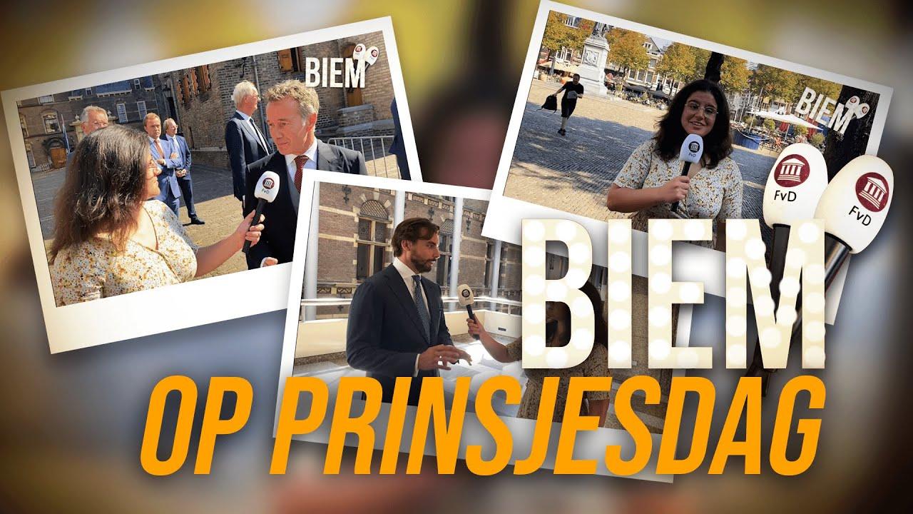 BIEM doet verslag van Prinsjesdag!