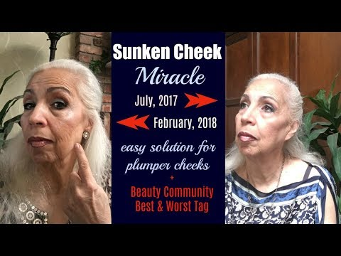 How To Plump Up Hollow Cheeks & Look Younger - plus Beauty Community Tag