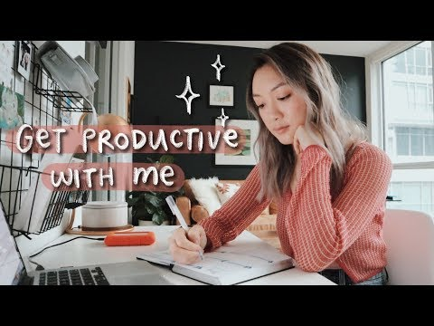 Get Productive With Me | A Day In My Life.
