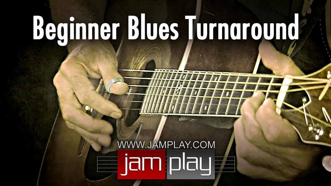 Blues Guitar Lesson - Easy Beginner Blues Turnaround