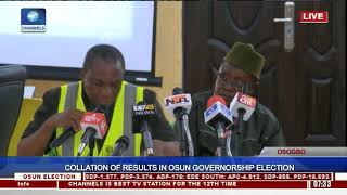 Collation Of Results In Osun Governorship Election Pt.21  Osun Decides 