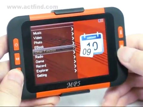 3.5 inch 8GB PMP with Great Sound Large LCD Screen MP3/MP4 Player