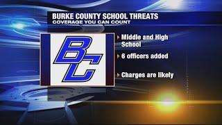 Burke County schools targets of threats