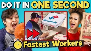 Download Try to Complete In One Second Challenge (Fastest Workers) Mp3 and Videos