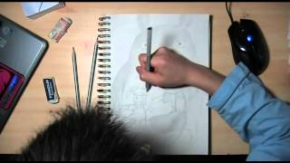 Speed Drawing - Totoro