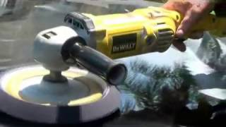 Wet Sanding And Buffing Oxidixed Car Hood De Man St Augustine Florida