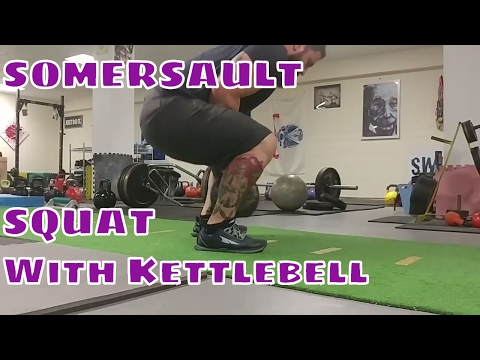 Somersault Squat with Joe Daniels  : Fastest Setup with Kettlebell !