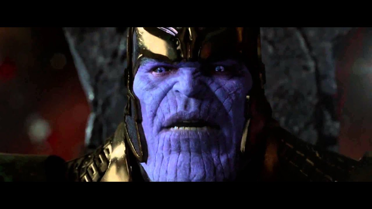 guardians of the galaxy clip thanos scene hd youtube