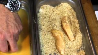 Crispy Parmesan Chicken Fingers With Marinara Sauce : Chicken, Pasta & Sauce