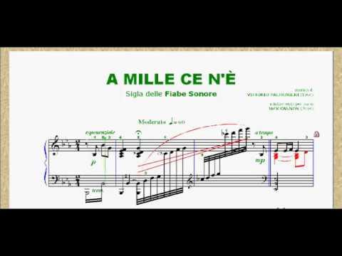 A MILLE CE N'È - sigla delle fiabe sonore (1966)
