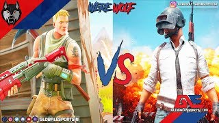 PUBG vs Fortnite | build vs aim | Werewolf Live | type !sponsor !ge #RoadTo6k