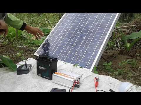 cara kerja Listrik gratis, solar cell tenaga matahari