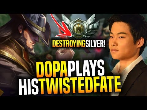 Dopa Destroying Silver Players With His Main Twisted Fate! - Dopa Apdo Plays Twisted Fate!