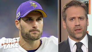 Kirk Cousins proved he can't get it done when it matters most - Max Kellerman | First Take