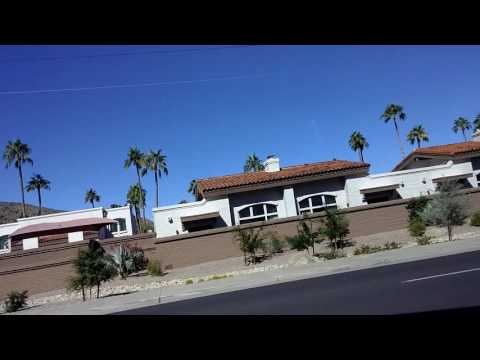 Driving Camelback Rd From Biltmore to Scottsdale Fashion Square