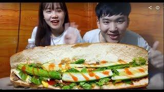 TH| Thử làm bánh mỳ pate khổng lồ với trứng ngỗng và vái kết