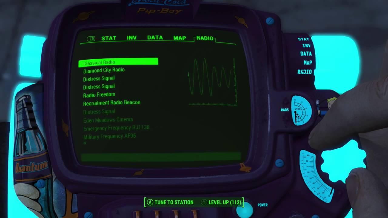 Fallout 4 Mod Show Case Nuka-Cola Quantum Pip Boy