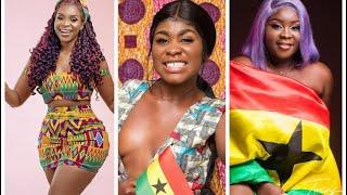 Afia Schwa, Maame Serwaa, Yaa Jackson Others Challenge On Independence Day