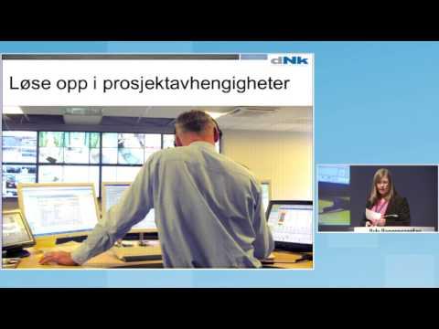 """""""Teknologi på tvers - styringsutfordringer i Nødnett"""" - Cecilie B.Løken"""