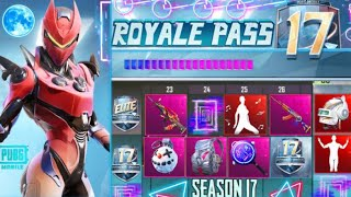 PUBG MOBILE Season 17 Royale Pass