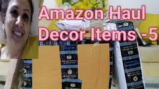 Amazon Haul for Decor Items -5 | Amazon Haul -5