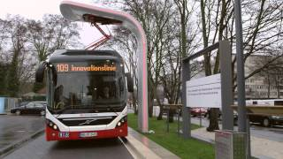Volvo's first Electric Hybrid bus in commercial service