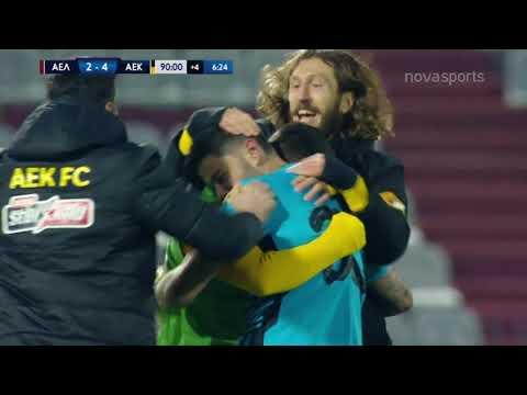 AEL Larissa AEK Goals And Highlights