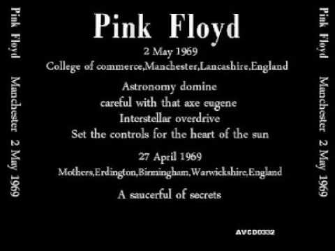 Pink floyd Manchester 2 May 1969