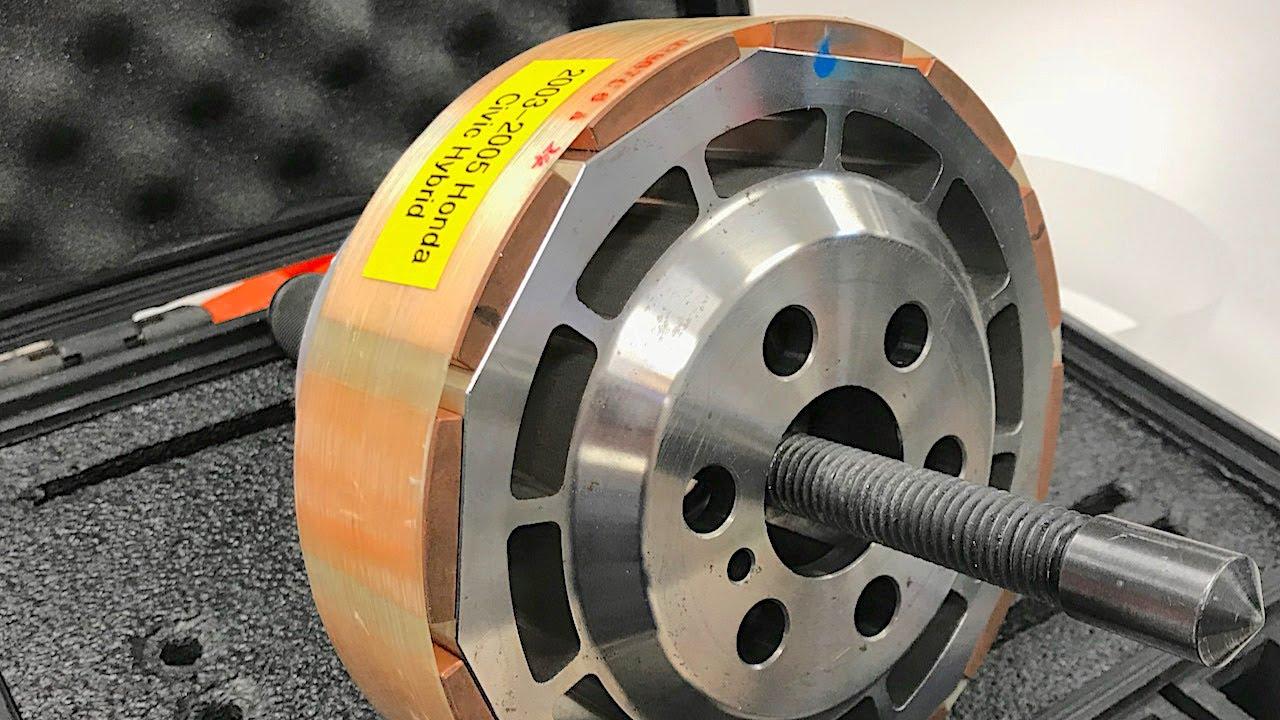 Honda IMA Hybrids Part 3  IMA Stator and Rotor Service