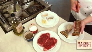 How to Prepare a Surf and Turf Romantic Dinner for Two | Market District