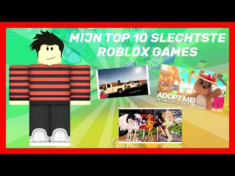 Mijn Top 10 Slechtste ROBLOX Games! (2020)
