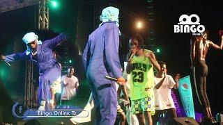 Alichokifanya Sholo mwamba na Romyjoms Tiwa Savage Anyoosha Mikono Kwenye Singeli/Wasafi festival Da